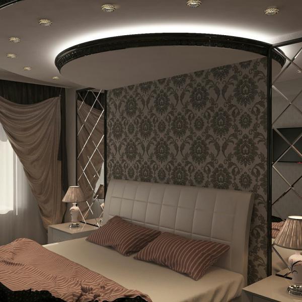 Вот такая спальня у меня, Спасибо дизайнерам!